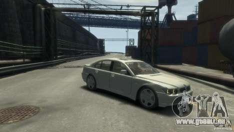 BMW 760I pour GTA 4 est un droit