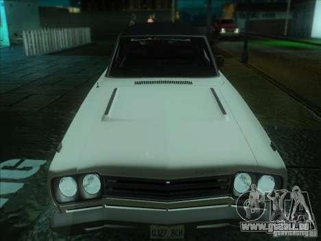 Plymouth Roadrunner 440 pour GTA San Andreas laissé vue