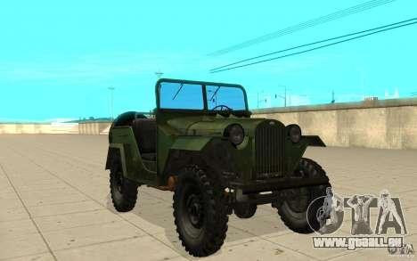 Gaz-67 pour GTA San Andreas
