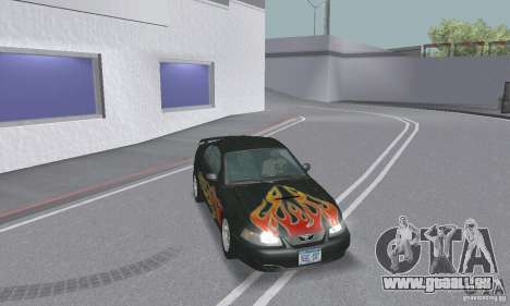 Ford Mustang GT 2003 pour GTA San Andreas salon