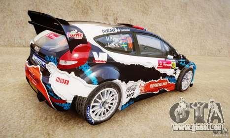 Ford Fiesta RS WRC für GTA 4 linke Ansicht