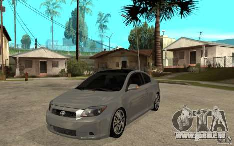 Scion tC - Stock für GTA San Andreas