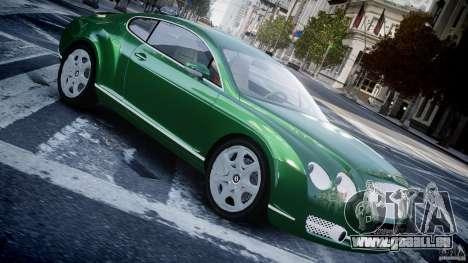 Bentley Continental GT für GTA 4 linke Ansicht