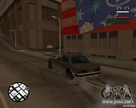 Neue pragmatische management für GTA San Andreas dritten Screenshot