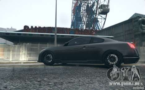 Infiniti G37 Coupe Carbon Edition v1.0 für GTA 4 hinten links Ansicht