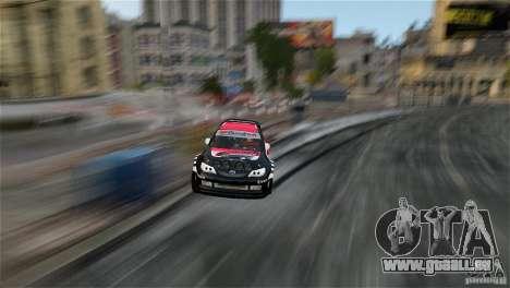 Subaru Impreza WRX STI Rallycross Eibach Springs für GTA 4 Innenansicht
