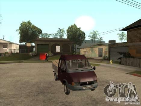 GAZ 33023 pour GTA San Andreas vue arrière