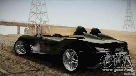 Mercedes-Benz SLR Stirling Moss 2005 pour GTA San Andreas vue arrière