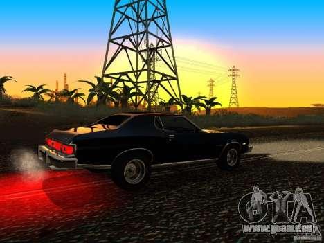 Ford Gran Torino 1975 pour GTA San Andreas vue de droite