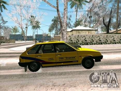 VAZ 21093i TMK Afterburner pour GTA San Andreas vue de côté