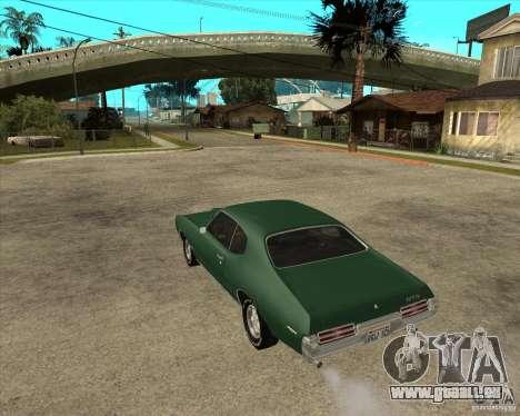 Pontiac GTO 1969 für GTA San Andreas linke Ansicht