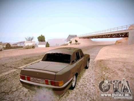 GAZ-31025 pour GTA San Andreas laissé vue