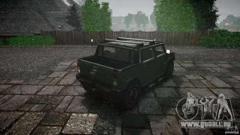 Hummer H2 für GTA 4 Seitenansicht