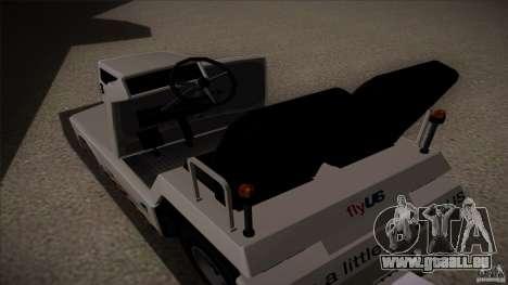 Air Tug from GTA IV pour GTA San Andreas vue de droite