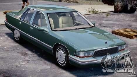Buick Roadmaster Sedan 1996 v1.0 für GTA 4 Unteransicht