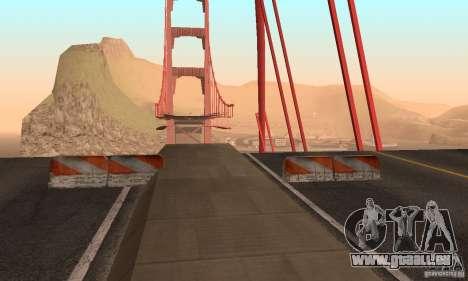 Zerstörte Brücke in San Fierro für GTA San Andreas