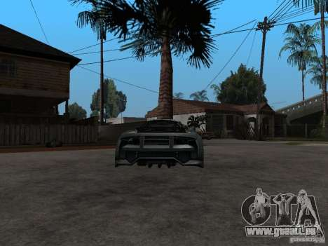 CyborX CD 10.0 XL GT v2.0 pour GTA San Andreas sur la vue arrière gauche