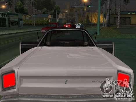 Plymouth Roadrunner 440 pour GTA San Andreas vue de côté