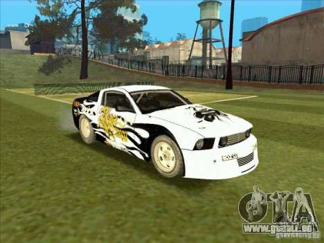 Ford Mustang Drag King from NFS Pro Street pour GTA San Andreas vue arrière
