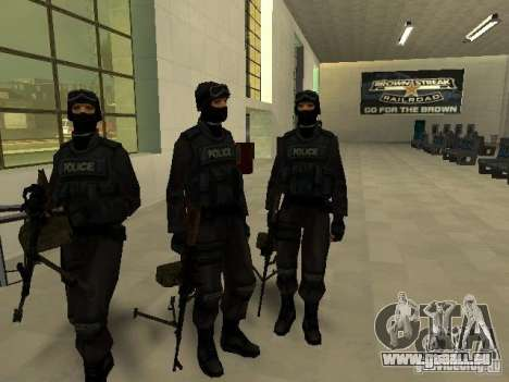 Aide Swat pour GTA San Andreas