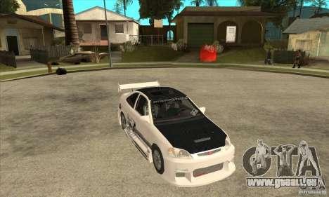 Honda Civic Tuning Tunable pour GTA San Andreas vue de côté