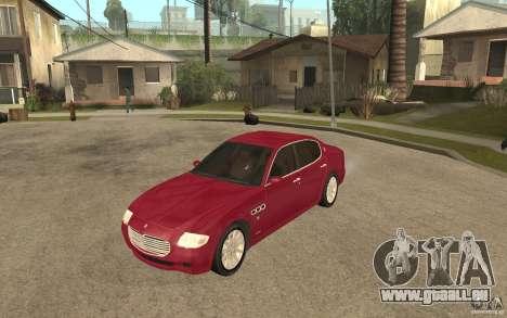Maserati Quattroporte pour GTA San Andreas