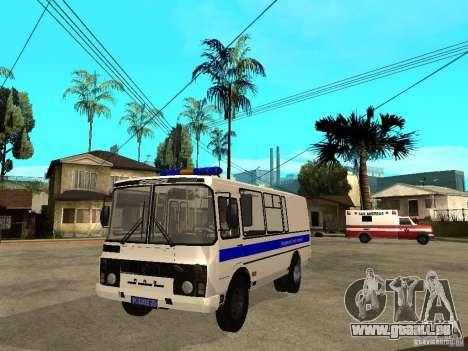 PAZ 3205 Police pour GTA San Andreas