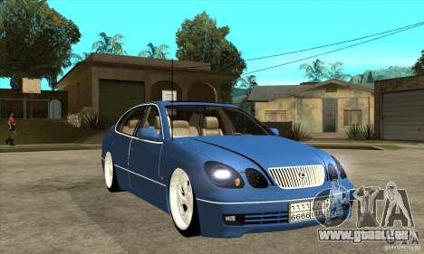 Lexus GS300 V 2003 pour GTA San Andreas vue intérieure
