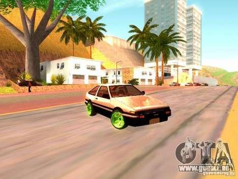 Toyota Corolla Carib AE86 pour GTA San Andreas