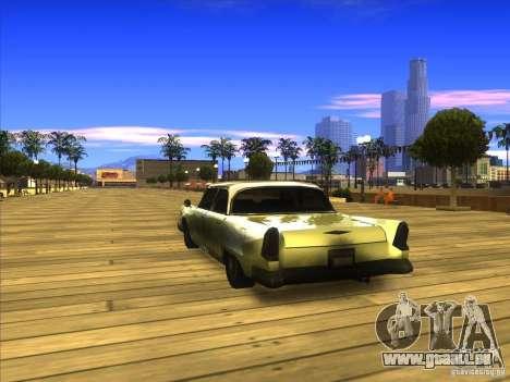 Glendale - Oceanic pour GTA San Andreas sur la vue arrière gauche
