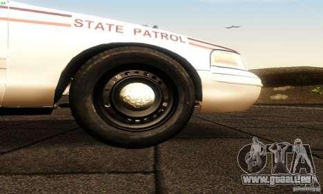 Ford Crown Victoria North Dakota Police für GTA San Andreas rechten Ansicht