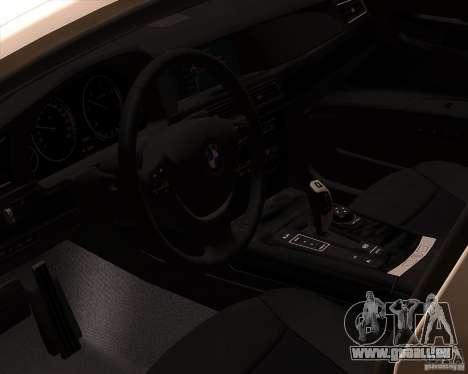 BMW 750Li 2010 pour GTA San Andreas vue de côté