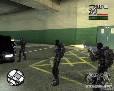 Groupe de stalkers dette pour GTA San Andreas cinquième écran