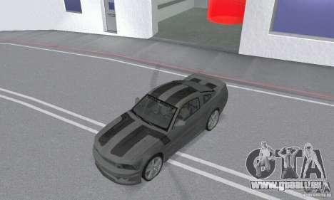 Saleen S281 Pack 2 pour GTA San Andreas vue intérieure