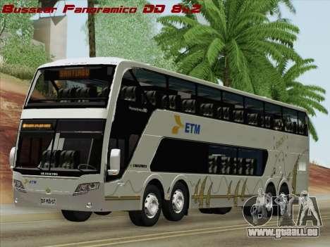 Busscar Panoramico DD 8x2 für GTA San Andreas
