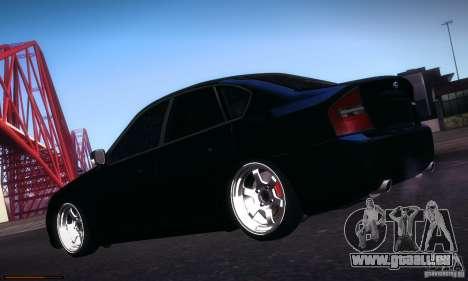 Subaru Legacy BIT edition 2004 pour GTA San Andreas vue de côté