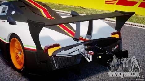 Pagani Zonda R 2009 Italian Stripes für GTA 4 Innen