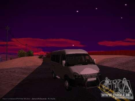 Gazelle 32213 Business v1.0 pour GTA San Andreas laissé vue