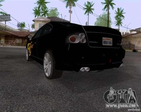 Vauxhall Monaco VX-R pour GTA San Andreas vue arrière