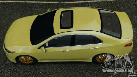 Honda Accord Type S 2008 pour GTA 4 est un droit