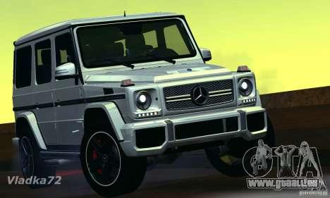 Mercedes-Benz G65 AMG 2013 pour GTA San Andreas