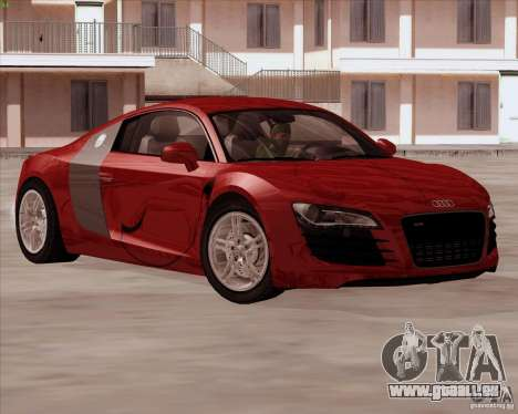 Audi R8 Production für GTA San Andreas Seitenansicht