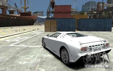 Bugatti EB110 Super Sport für GTA 4 hinten links Ansicht