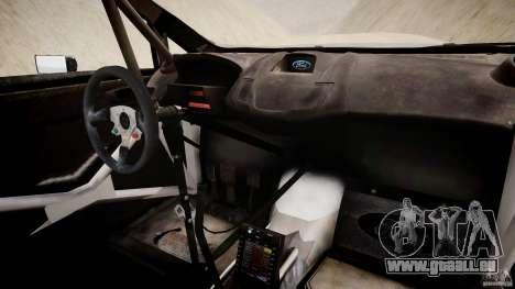 Ford Fiesta RS WRC für GTA 4 Rückansicht