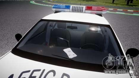 Ford Crown Victoria Karachi Traffic Police für GTA 4 obere Ansicht