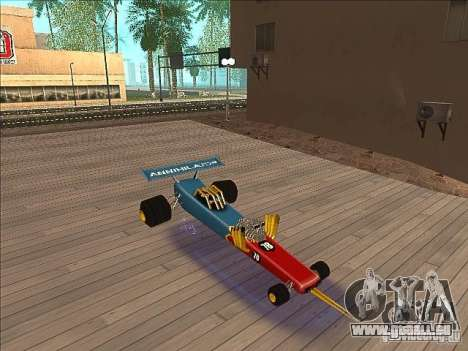 Dragg car für GTA San Andreas