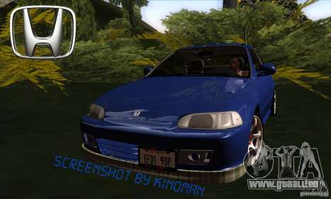 Honda Civic EG5 pour GTA San Andreas