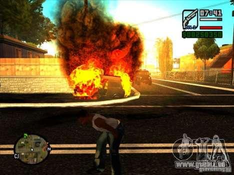 Ordures de l'explosion pour GTA San Andreas quatrième écran