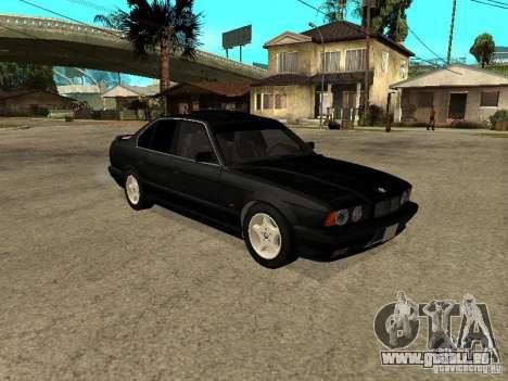 BMW e34 525 pour GTA San Andreas vue de droite