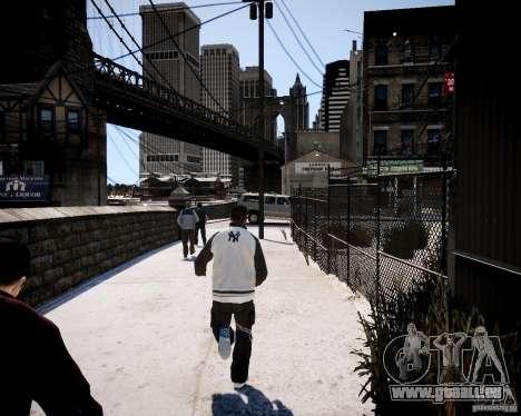 Niko - Cj pour GTA 4 cinquième écran